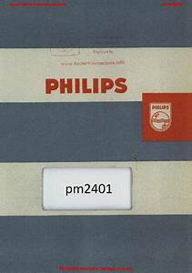 Philips Pm 3310 Block Diagram And Power Supply Sch Service