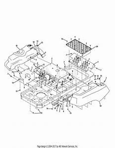 Troy Bilt 17be2acg011 Colt Xp  2009  Parts Diagram For