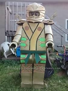 Cool Lego Ninjago Golden Ninja Costume