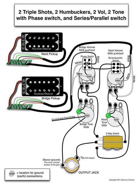 Seymour Duncan Wiring Diagram Triple Shots