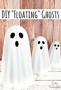 How, To, Make, A, Floating, Ghost, With, A, Metal, Candlestick, For, Halloween