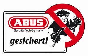 Abus Smart Home : aufkleber abus gesichert endlich sicher ~ Orissabook.com Haus und Dekorationen
