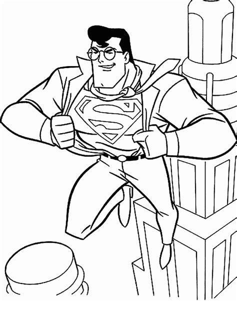 superman coloring pages coloringpagescom