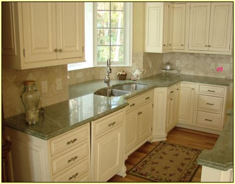Grey Green Kitchen Cabinets by Light Green Granite Countertop Home Design Ideas