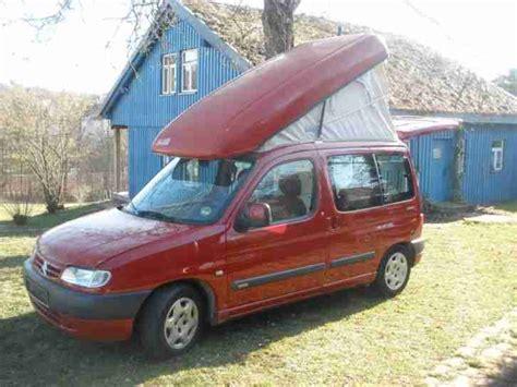 Citroen Berlingo Zooom Mini Wohnmobil Womo Wohnwagen Wohnmobile