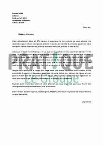 Exemple Lettre De Motivation Bts : lettre de motivation pour un stage de bts banque et assurance ~ Medecine-chirurgie-esthetiques.com Avis de Voitures