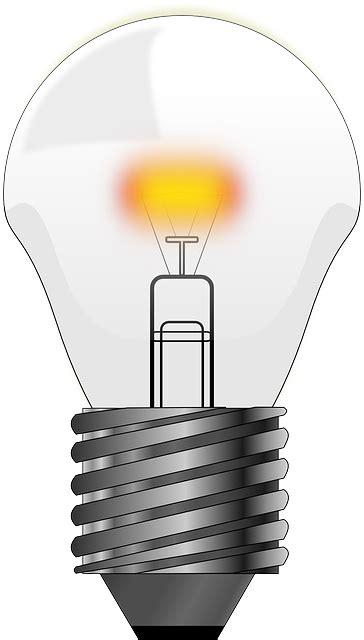 bulb light lamp  vector graphic  pixabay