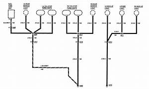 Buick Century  1986  - Wiring Diagrams - Ground Distribution
