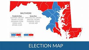 How did Maryland counties vote in the 2016 Presidential ...