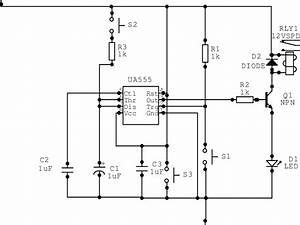 Circuit Diagram For The Delay Timer