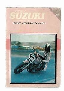 Clymer Suzuki  Gs750 Fours 1977 Service Repair Performance