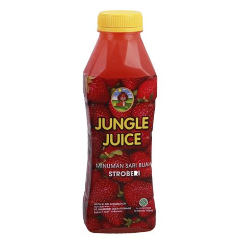 jungle juice soursop 500 ml jungle juice strawberry 500 ml sukanda djaya