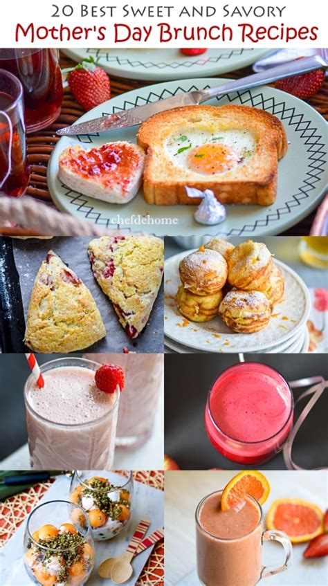 best brunch ideas at home sweet and savory mother s day brunch recipes meals chefdehome com