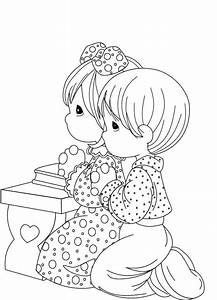 the church prayed for peter coloring page - colorea tus dibujos preciosos momentos ni os rezando