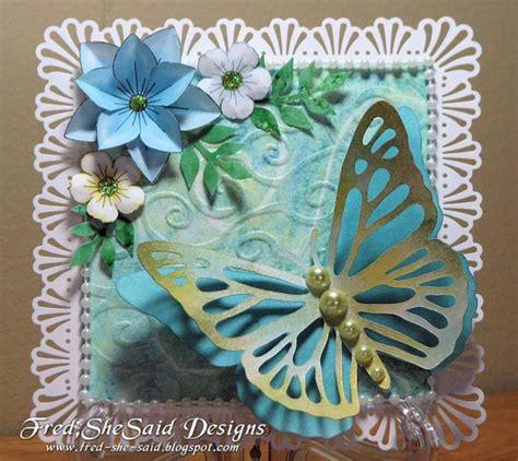 butterfly card  fredness  splitcoaststampers