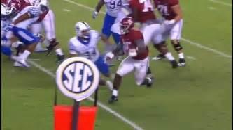 Joshua Jacobs - Alabama vs Kentucky, 2016 - YouTube