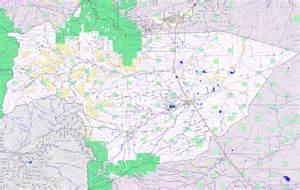Colorado County Road Map