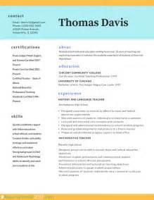 professional teacher resume template