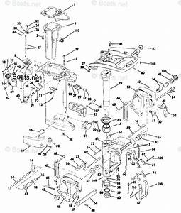 Evinrude Outboard Parts By Year 1987 Oem Parts Diagram For Midsection