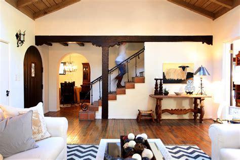 wood floor tiles Living Room Rustic with arched doorway