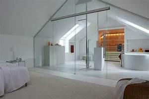 Sauna Für Badezimmer : sauna cupreme im modernen bad unterm dach badezimmer ~ Watch28wear.com Haus und Dekorationen
