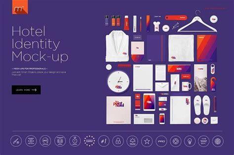 hotel identity mock   images identity design