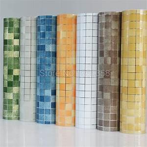 Aliexpress com : Buy Bathroom wall stickers PVC mosaic