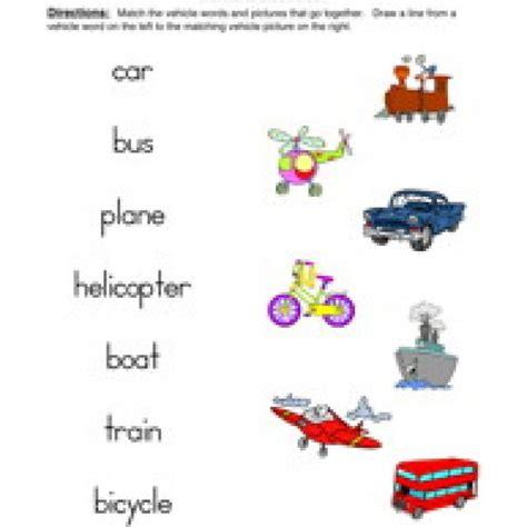 transportation worksheets 2nd grade homeshealth info