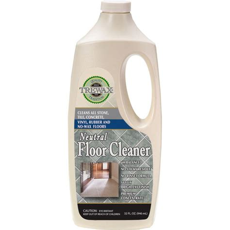 cleaner for floors trewax 32 oz neutral floor cleaner concentrate 3 pack 887272175 the home depot