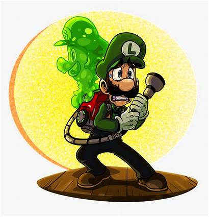 Fan Luigi Mansion Gooigi Celebrate Cartoon Announcement