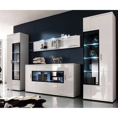 liquidation meuble de bureau cuisine meuble tv design laquã blanc et noir doria