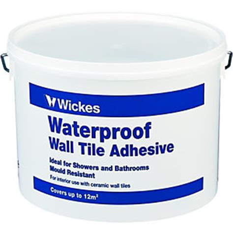 Wall Tile Adhesive Or Thinset by Wall Tile Adhesives Adhesive Grout Wickes Co Uk