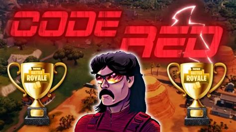 dr disrespect  boomtv  code red fortnite tournament