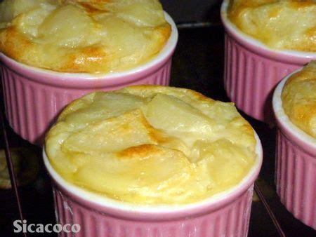dessert avec poires fraiches petits clafoutis aux poires les carnets de sicacoco