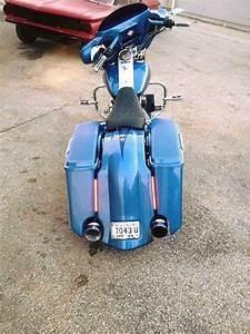Harley Davidson 4 U2033 Extended Stretched Saddlebags Kit Sku