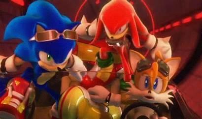 Sonic Riders Knuckles Zero Gravity Tails Hedgehog