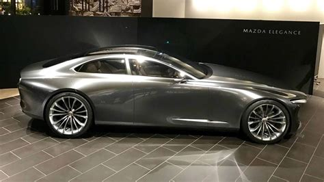 mazda vision coupe concept motorcom