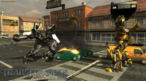 3 New Screen Caps Of Transformers The Movie Game