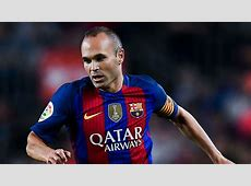 UEFA Team of the Year Andres Iniesta Goalcom