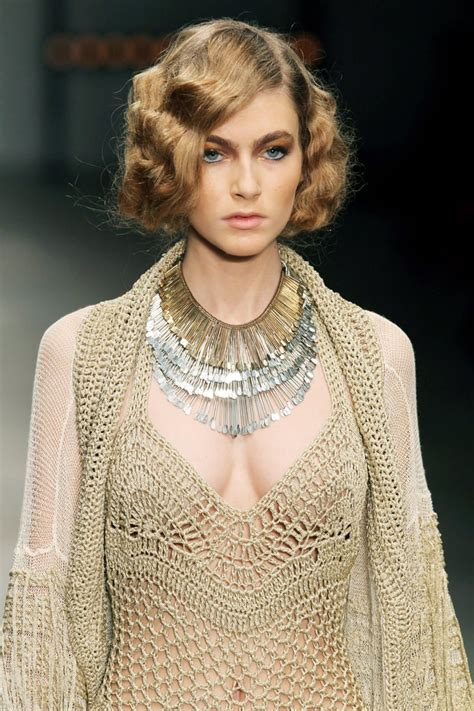 the glamorous 30s inspired bobs created for mark fast s spring 2012 vintage hair and makeup