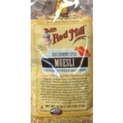 Bob's Red Mill Muesli, Old Country Style Calories