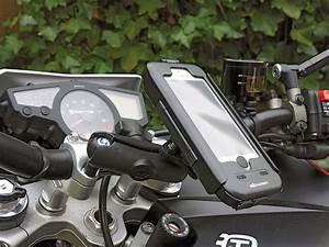 Handyhalterung Motorrad Empfehlung : handy halterung von sw motech kradblatt ~ Jslefanu.com Haus und Dekorationen