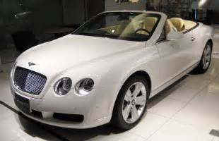 All White Bentley Continental GT