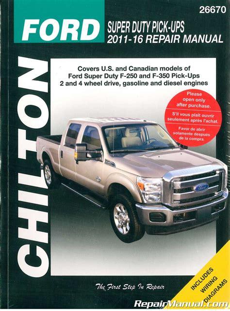 chilton ford super duty pick ups