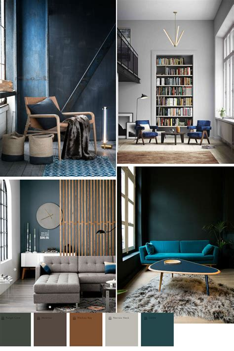colours for home interiors blue color trend in home decor 2016 2017 interior