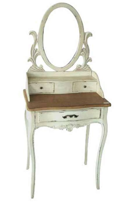 white vanity desk with mirror distressed white wooden vanity table with brown wooden top