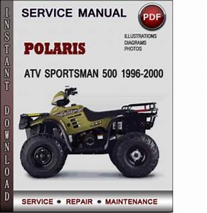 99 Polaris Sportsman 500 Service Manual