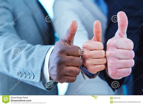 Gesture Of Approval Stock Photo