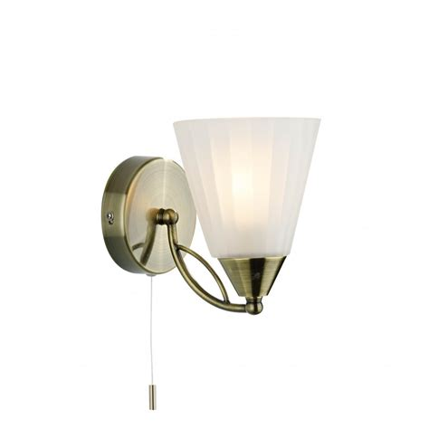 double insulated wall light with switch