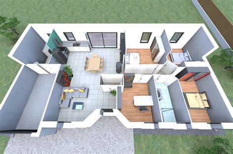 maison 4 chambres plan 3d d 39 un de nos modèles de maison avec 4 chambres un